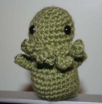 Cthulhu Giveaway Crochet Mae